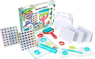 Crayola Glitter Dots Sparkle Station, Glitter Craft Kit, Gift for Kids, 6, 7, 8, 9