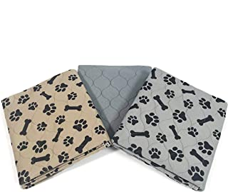 JUNGLE CREATIONS 狗狗可洗尿垫 30 英寸 x 36 英寸(3 件装)