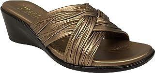 ITALIAN Shoemakers 女士 Saylor 坡跟凉鞋