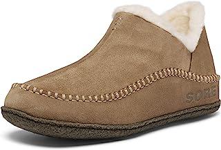 Sorel - Manawan II 男士拖鞋,麂皮鞋面,羊毛/滌綸襯里