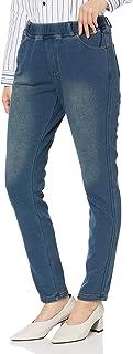 Cecile 裤子 抓绒 针织牛仔布 修身裤 智能针织牛仔裤 可选长度 女士 MP-2175