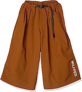 MILKFED.圆领运动鞋 103201031004 牛奶面积×渐变阔腿裤 MILKFED.xGRAMICCI WIDE PANTS BROWN 日本 M (日本サイズM相当)