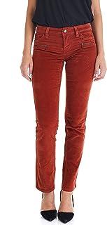 Suko Jeans 女士灯芯绒裤子 - 直筒裤 - 弹力
