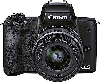 Canon 佳能 EOS M50 Mark II + EF-M 15-45mm - 黑色