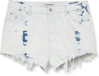 Superdry 极度干燥 女士裁剪短裤