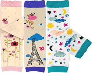 Bowbear 3 双装可爱设计的婴儿暖腿套