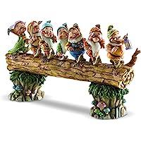Disney 迪士尼 4005434 七个小矮人摆件,35.6 x 8.9 x 21厘米