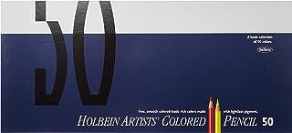 荷尔拜因彩色铅笔 50种颜色 套装 纸盒
