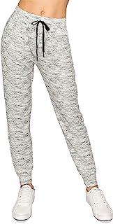 ALWAYS 女式迷彩慢跑裤 - 超柔软羊毛保暖冬季口袋*运动裤