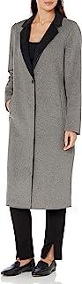 Calvin Klein 女士双面羊毛大衣