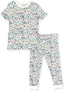 Magnetic Me 2 件套幼儿睡衣套装适合男孩和女孩,带简易磁扣开合 - 柔软*棉面料