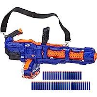 NERF 热火 Elite Titan CS-50玩具冲击波–完全电动,50枚子弹弹鼓,50个Nerf官方Nurf子弹…