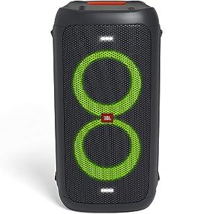 JBL PartyBox 100 便携式蓝牙派对扬声器,带灯光效果和 2500 mAh 电池