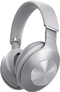 Panasonic 松下电器 Technics EAH-F50B-S 高级高分辨率无线蓝牙头戴式封闭式耳机,带麦克风、语音助理和舒适3D的耳垫 - 银色