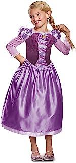 Disguise长发公主连衣裙经典道具服 84 months to 96 months Medium (7-8) 紫色