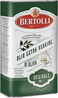 Bertolli 特级初榨橄榄油原装 100% 特级初榨橄榄油散装,3 升罐