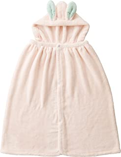 CB JAPAN 浴巾 兔子造型 吸水速干 连帽 毛巾 超细纤维 carari zooie