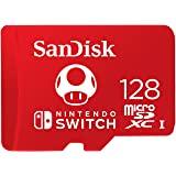 SanDisk 閃迪 用于任天堂Switch的SDSQXAO-128G-GNCZN microSDXC UHS-I卡,1…