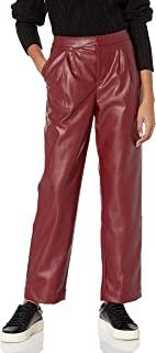 KENDALL + KYLIE 女式人造皮革九分裤