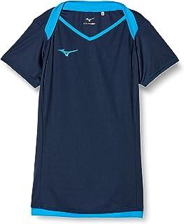[Mizuno 美津浓] 排球服 训练衬衫(短袖)V2MA8283 女式