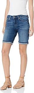 Silver Jeans Co. 女式 Suki 中腰百慕大短裤
