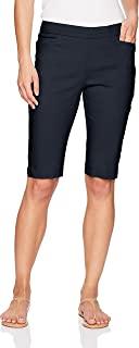 Napa Valley 女式娇小尺寸超弹力修身解决方案套穿式浅口短裤