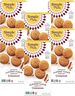 Simple Mills 脆饼干, 肉桂, 155.65克, 6 计数