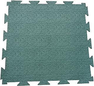 Rubber-Cal Terra-Flex 联锁地板橡胶瓷砖(5 块装)