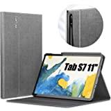 INFILAND Galaxy Tab S7 手機殼,多角度支架保護套兼容三星 Galaxy Tab S7 11 英寸…