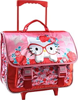Jacob & Co. 手推车书包 Hello Kitty 儿童背包 41 厘米 粉红色 粉红色
