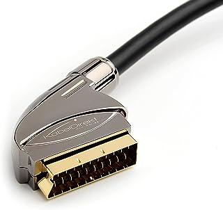 KabelDirekt 6 英尺 SCART 电缆(21 针,多屏蔽,精密接头,全 HD ) - PRO 系列706 15 feet