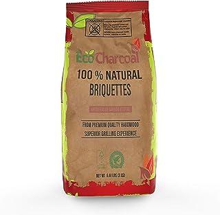ECONEW EcoCharcoal * 天然硬木烤肉,*适合烧烤烧烤,FSC (C138948) 和雨林联盟认证,7.0 磅(约 3.0 千克)包
