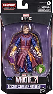 "Hasbro 孩之宝 MARVEL 漫威传奇系列 What If…? Doctor Strange Supreme 6英寸(约15.2厘米)可动手办 F0333 正品 附带""Build-A-Figure""拼装零件"