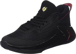 Nike Boys' Jordan Fly Lockdown Bg Basketball Shoes, Black (Black/Varsity Red/Dandelion 012), 4.5 UK (37.5 EU)