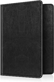Fintie Passport Holder Travel Wallet - Premium Vegan Leather RFID Blocking Case Cover - Securely Holds Passport, Business ...