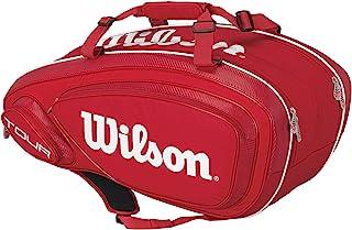 Wilson TOUR V 9-pack 红色网球包,红色