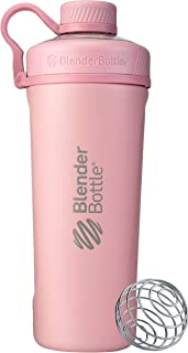 BlenderBottle Stanless Radian 绝缘不锈钢调味瓶 玫瑰粉 26- Ounce C03722