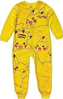 Pokemon 皮卡丘男孩连体睡衣