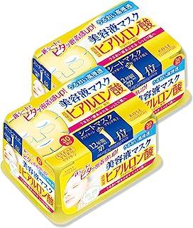 KOSE 高丝 Clear Turn 精华面膜 (透明质酸) 面膜 30片×2件 【Amazon.co.jp限定】