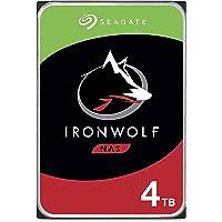 SEAGATE 希捷 IronWolf 4TB NAS内置硬盘HDD – CMR 3.5英寸(约8.89厘米)SATA…