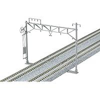 KATO N轨距 复线宽架线柱 10根装 23-061 铁道模型用品