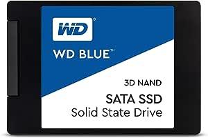 """Western Digital Blue 3D NAND 2TB 内置固态硬盘 - SATA III 6 Gb/s, 2.5""""/7mm, 可达560 MB/s - WDS200T2B0A"""