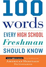 100 Words Every High School Freshman Should Know (English Edition)