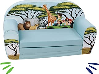 Delsit 通用儿童沙发 蓝色 UNI