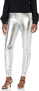 Kendall + Kylie 女式手机口袋金属打底裤