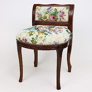 【意大利制经典家具】猫脚・带背的凳子/哥布兰织物 42×48×H63(SH45)cm R2-201GEN
