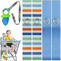 PBnJ 婴儿玩具保存带支架狗绳*配件海滩/蓝色 - 4 件套