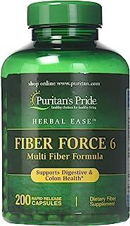 Puritan's Pride Fiber Force 6-200 粒胶囊