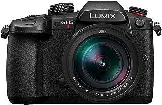 Panasonic 松下 LUMIX GH5M2 无反相机,无线直播和 LEICA 12-60mm F2.8-4.0 镜头 - 黑色