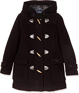[橄榄球场] 橄榄球学校 双排扣大衣[黑色] 女孩 1J90001-09